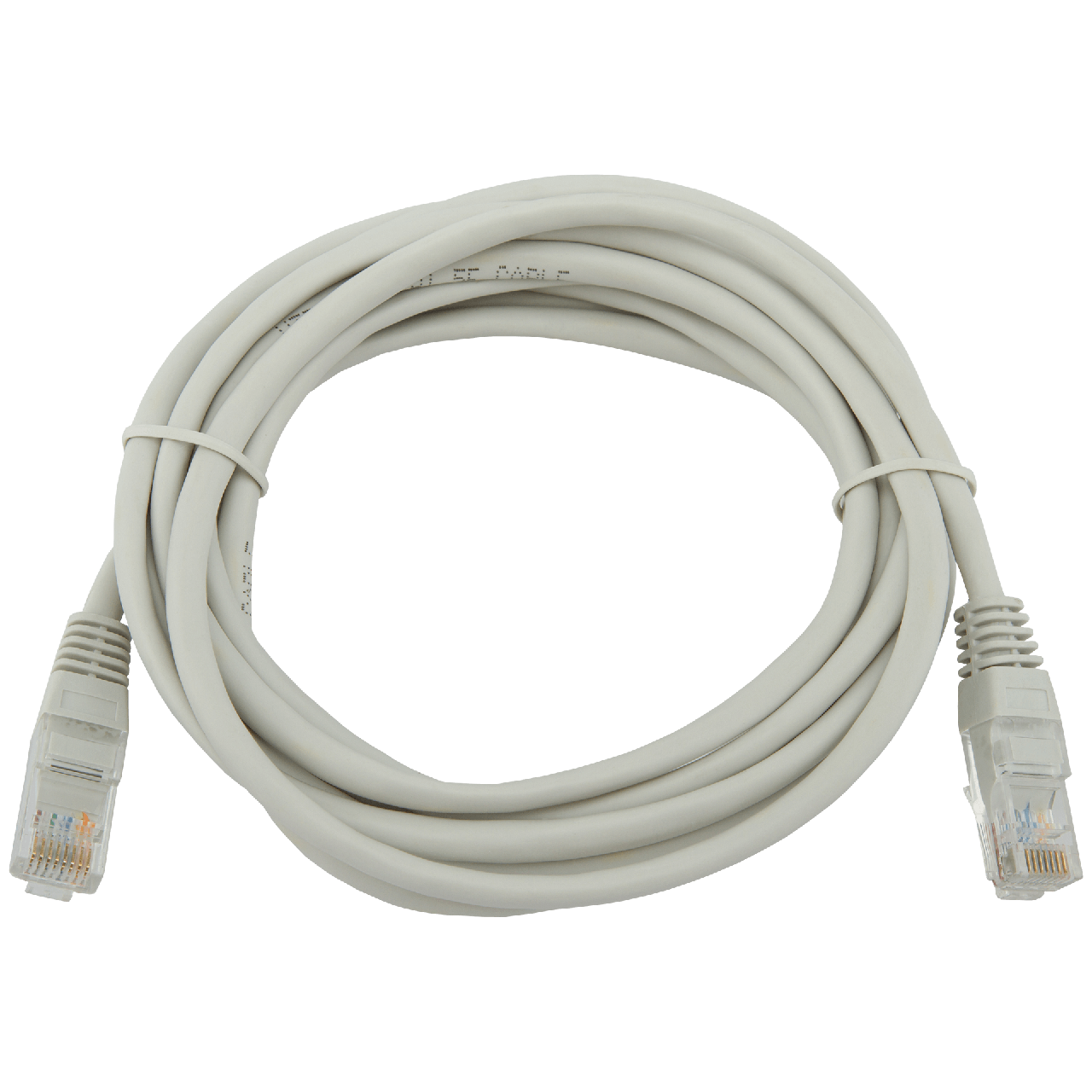 Патч-корд литой LogicPower UTP RJ45 кат. 5Е 3 м (серый)