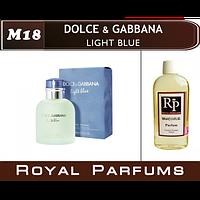 «Light Blue» от Dolce & Gabbana. Духи на разлив мужские Royal Parfums