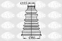 Пыльник шруса наружный (термопласт) SASIC 4003432 35х86 (хомут + смазка)