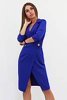 S, M, L | Вишукане жіноче плаття на запах Kristall, синій