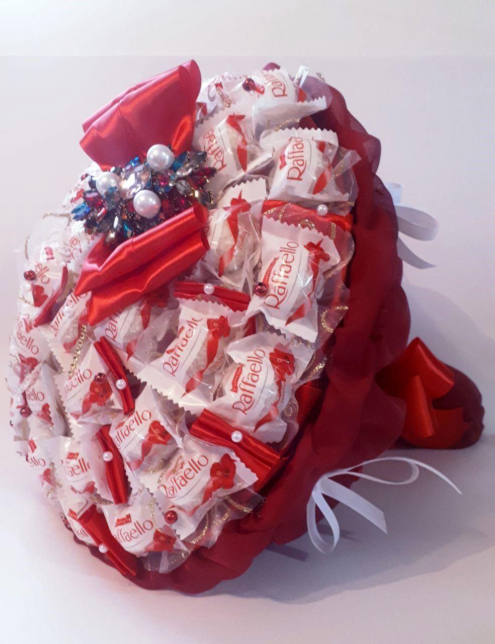 Букет из  конфет  Raffaello Торжественный