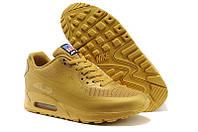 Кроссовки мужские Nike Air Max 90 Hyperfuse (в стиле найк аир макс 90 Гиперфьюз) золотистые