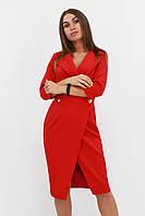 S, M, L | Вишукане жіноче плаття на запах Kristall, червоний