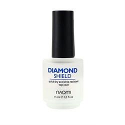 """Diamond Shield Naomi """"Быстросохнущий закрепитель «Алмазный щит»"""" 15 ml"""