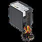 Блок питания ATX-400W 8 см 2 SATA OEM BLACK, фото 2