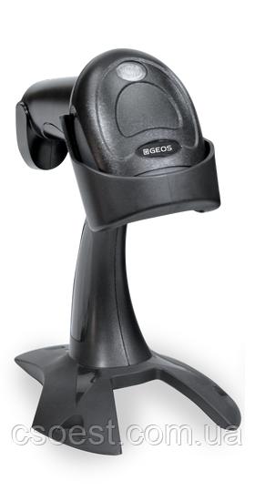 GEOS SD-580 2D сканер штрих коду з підставкою