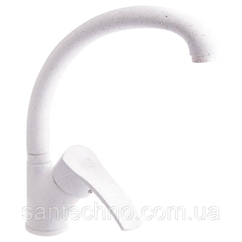 Смеситель для кухни Lidz, белый (WHI)-20 38 011 03