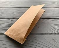 Бумажный пакет саше уголок 90х210 бурый (малый) (2000шт в упаковке)