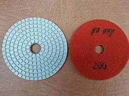 Гибкий полировальный круг (черепашка) Ø100 Р200