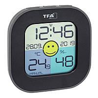 Термометр-гигрометр цифровой TFA Fun Black