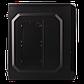 Корпус LP 2011-450W 12см black case chassis cover с 2xUSB2.0 и 1xUSB3.0, фото 5