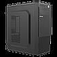 Корпус LP 2008-500W 12см black case chassis cover с 2xUSB2.0 и 1xUSB3.0, фото 3