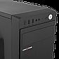 Корпус LP 2008-500W 12см black case chassis cover с 2xUSB2.0 и 1xUSB3.0, фото 4