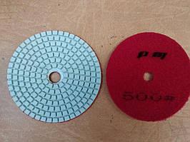 Гибкий полировальный круг (черепашка) Ø100 Р500