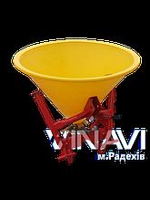 Розкидач міндобрив навісний Jar-Met 200л