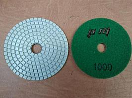 Гибкий полировальный круг (черепашка) Ø100 Р1000