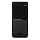 Корпус LP 2010-500W 8см black case chassis cover с 2xUSB2.0, фото 2