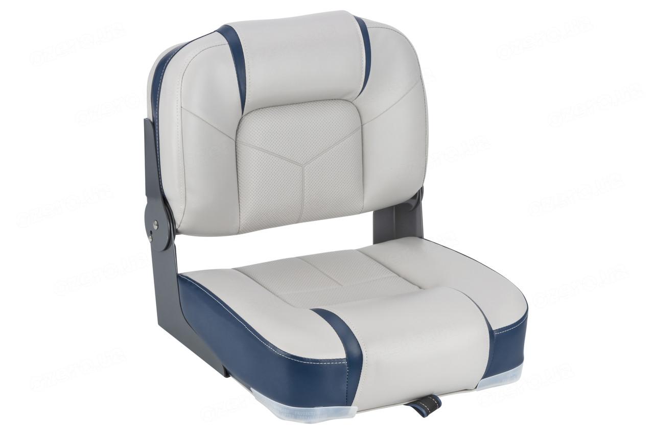 Сиденье для лодки Bass Boat Center Seat Серо/Синее NEWSTAR 75246GN