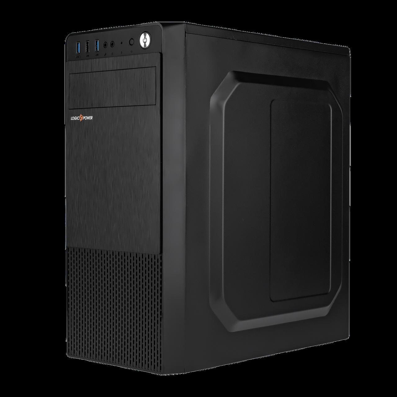 Корпус LP 2009-500W 12см black case chassis cover с 1xUSB2.0 и 2xUSB3.0