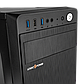 Корпус LP 2009-500W 12см black case chassis cover с 1xUSB2.0 и 2xUSB3.0, фото 4