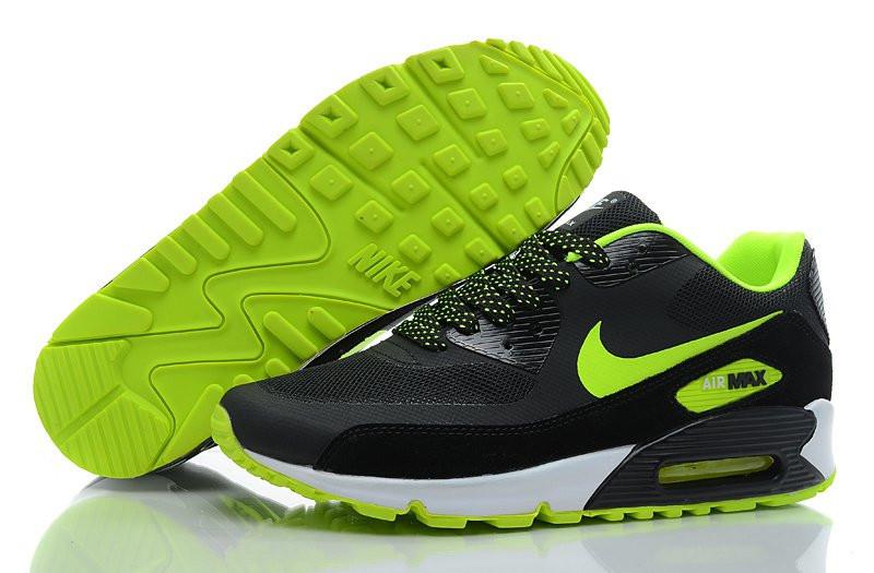 f652a2485507 Кроссовки мужские Nike Air Max 90 Hyperfuse (в стиле найк аир макс 90)  черные