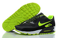Кроссовки мужские Nike Air Max 90 Hyperfuse (в стиле найк аир макс 90) черные