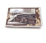 """Двуспальный комплект (Бязь)   Постельное белье от производителя """"Королева Ночи""""   Цветы на коричневом и белом, фото 5"""