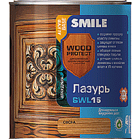 Smile Wood Protect SWL 15 Лазурь Каштан 0.75л