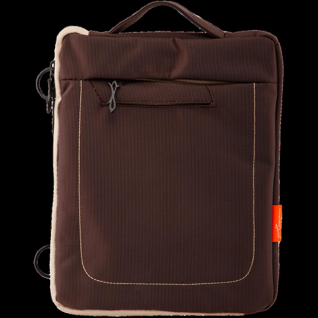 "9.7"" LF-016LG   Сумка для iPad, планшета, полиэстер, серо-коричневый"