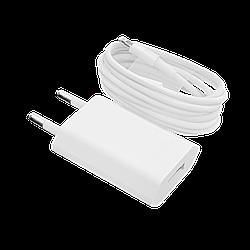 Зарядное устройство LP АС-005 USB 5V 1A + кабель Lighting/ОЕМ White
