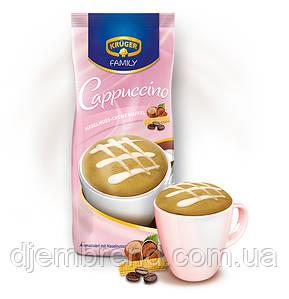 Кремовый вафельно-ореховый капучино, Kruger Family Cappuccino Hazelnuss-Creme Waffel, 500 гр