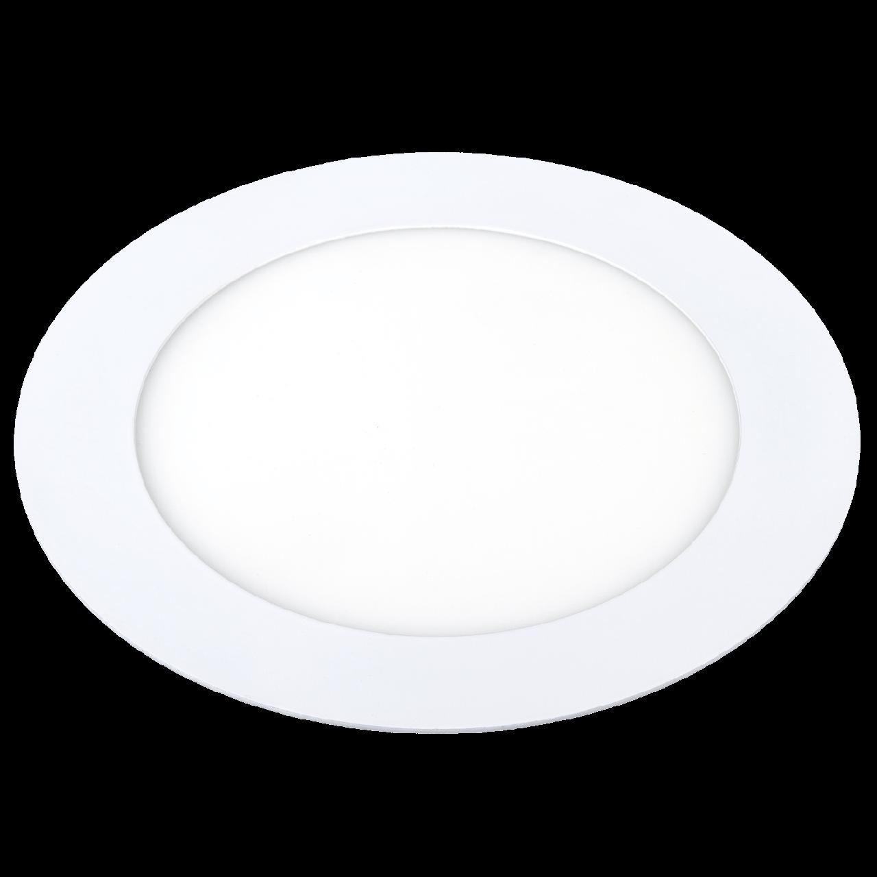 LED светильник Ilumia 9W 4000К нейтральный круг врезной (027)