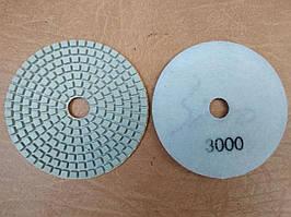 Гибкий полировальный круг (черепашка) Ø100 Р3000