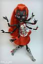 Кукла Monster High Вайдона Спайдер (Вебарелла-Webarella) из серии Power Ghouls Монстр Хай, фото 8