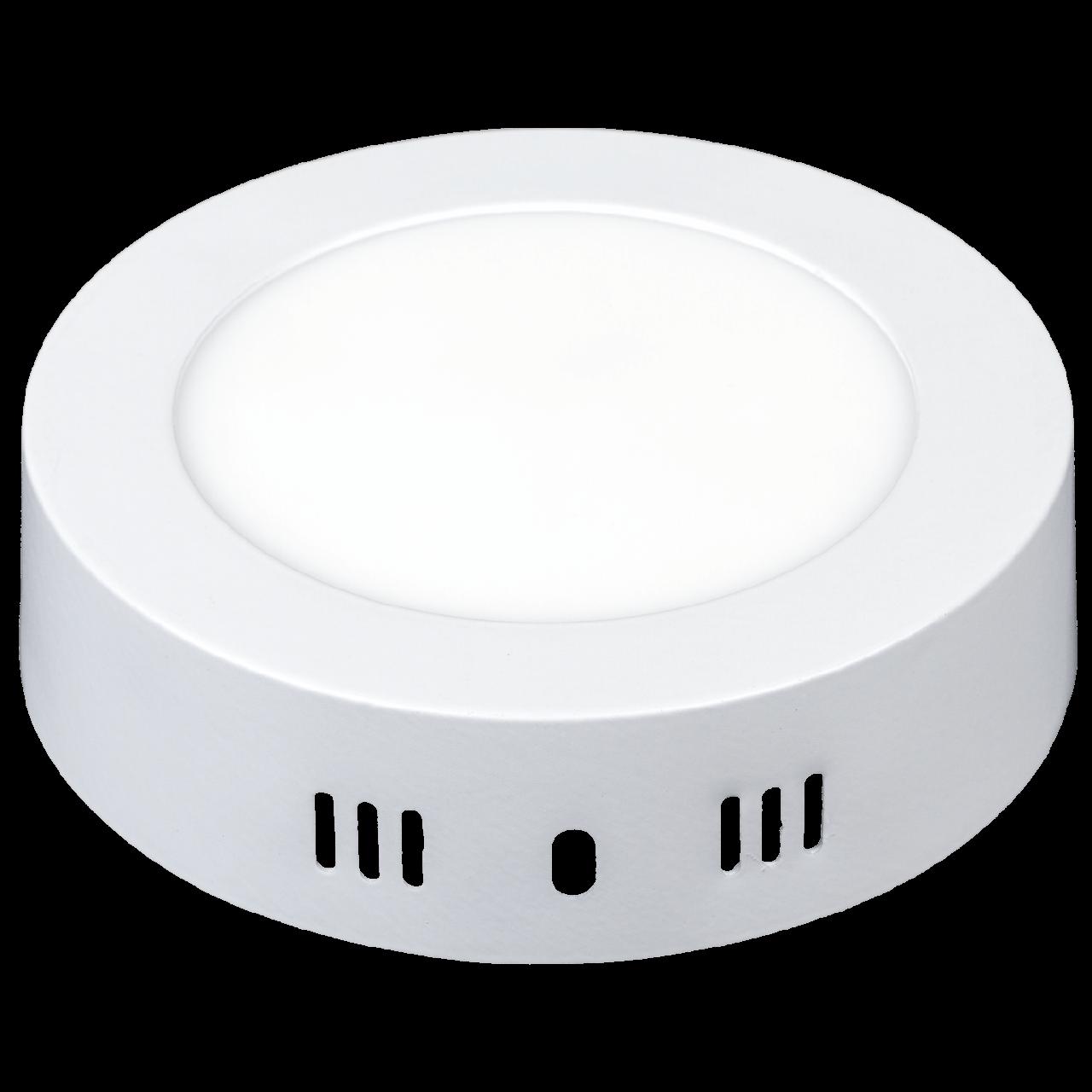 LED светильник Ilumia 6W 4000К нейтральный круг накладной (035)