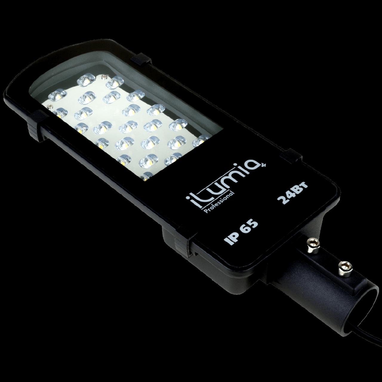 LED светильник Ilumia 24W нейтральный 2400Lm консольный (045)