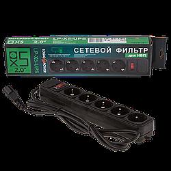 Мережевий фільтр для ДБЖ LP-X5-UPS-2M
