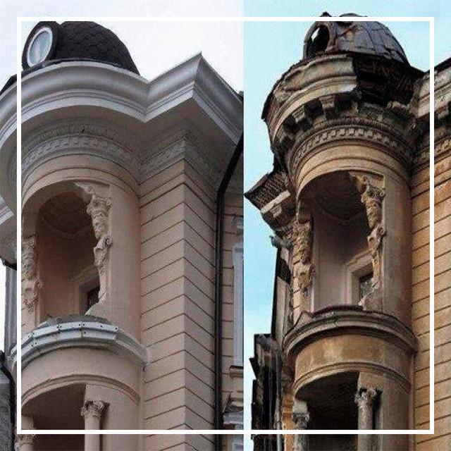 Реставрация объектов и изделий из камня