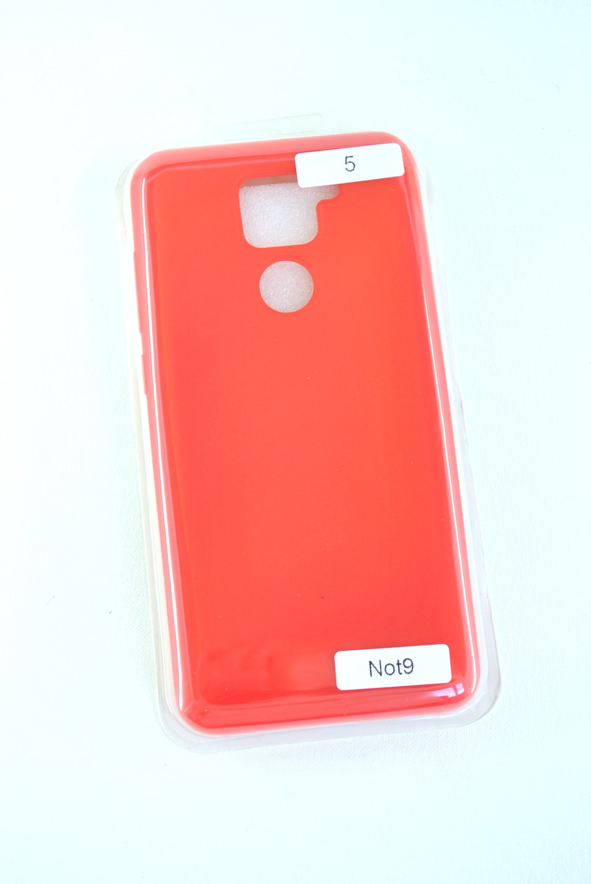 Чехол Samsung A21s/A217 Silicon Original FULL №5 Red (4you)