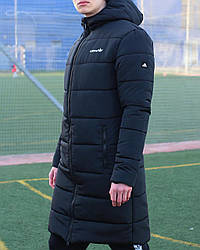 Куртка длинная Адидас черный XL