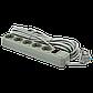 Фильтр-удлинитель сетевой LogicPower LP-X5, 5 розеток, цвет-серый, 10 m (OEM), фото 3