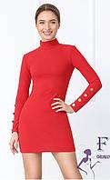Короткий облягаючу сукню В 035/02, фото 1