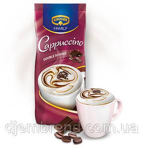 Капучино Двойной Шоколад, Kruger Family Cappuccino Double Schoko, 500 гр (растворимый напиток)
