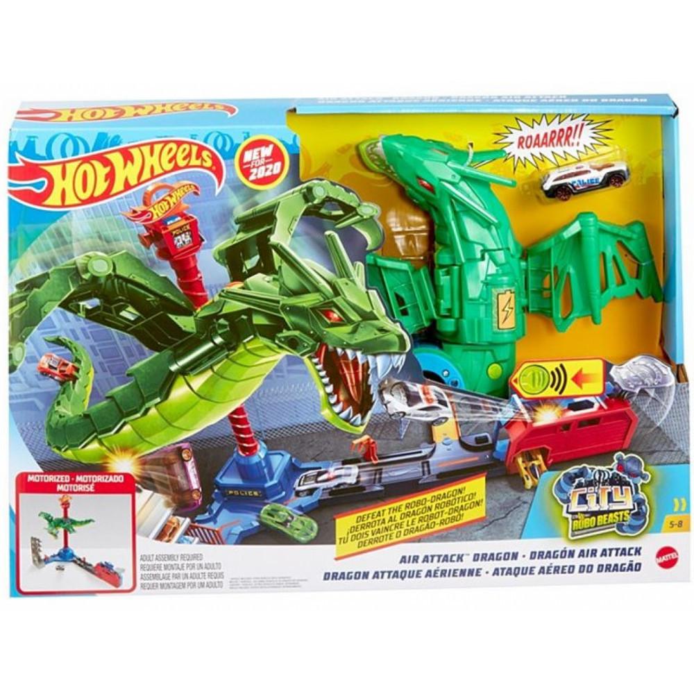 Hot Wheels Игровой набор Hot Wheels Воздушная атака дракона Air Attack Dragon