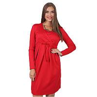 Платье для беременных и кормящих ЮЛА МАМА Winona (размер S, красный), фото 1