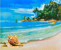 Картина раскраска живопись рисование по номерам на холсте Волшебное побережье 50*40 см