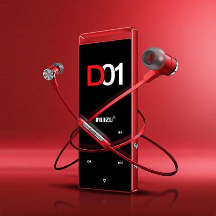 MP3 Плеер RuiZu D01 4Gb Original Красный, фото 2