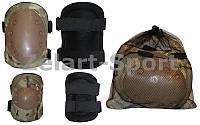 Защита тактическая наколенники, налокотники  (рр XL, ABS, PL 600D, камуфляж Multicam)