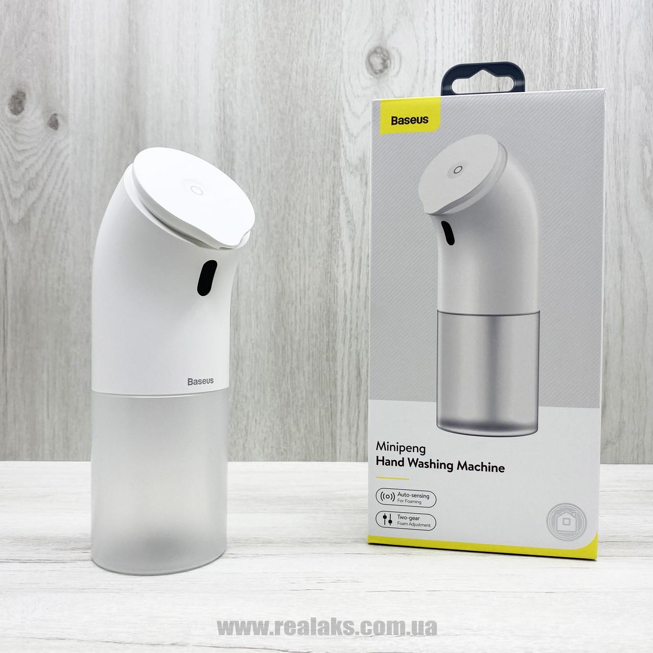 Aвтоматический дозатор мыльной пены BASEUS Minipeng Hand Washing Machine (white)