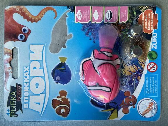 Інтерактивна іграшка рибка-робот (роборыбка) Robo fish (У пошуках Немо), фото 2